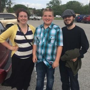 Left to Right: Stefany, Ryan, Daniel