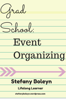 Grad School: Event Organizing