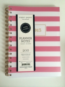 Sugar Paper 2015 Planner Cover