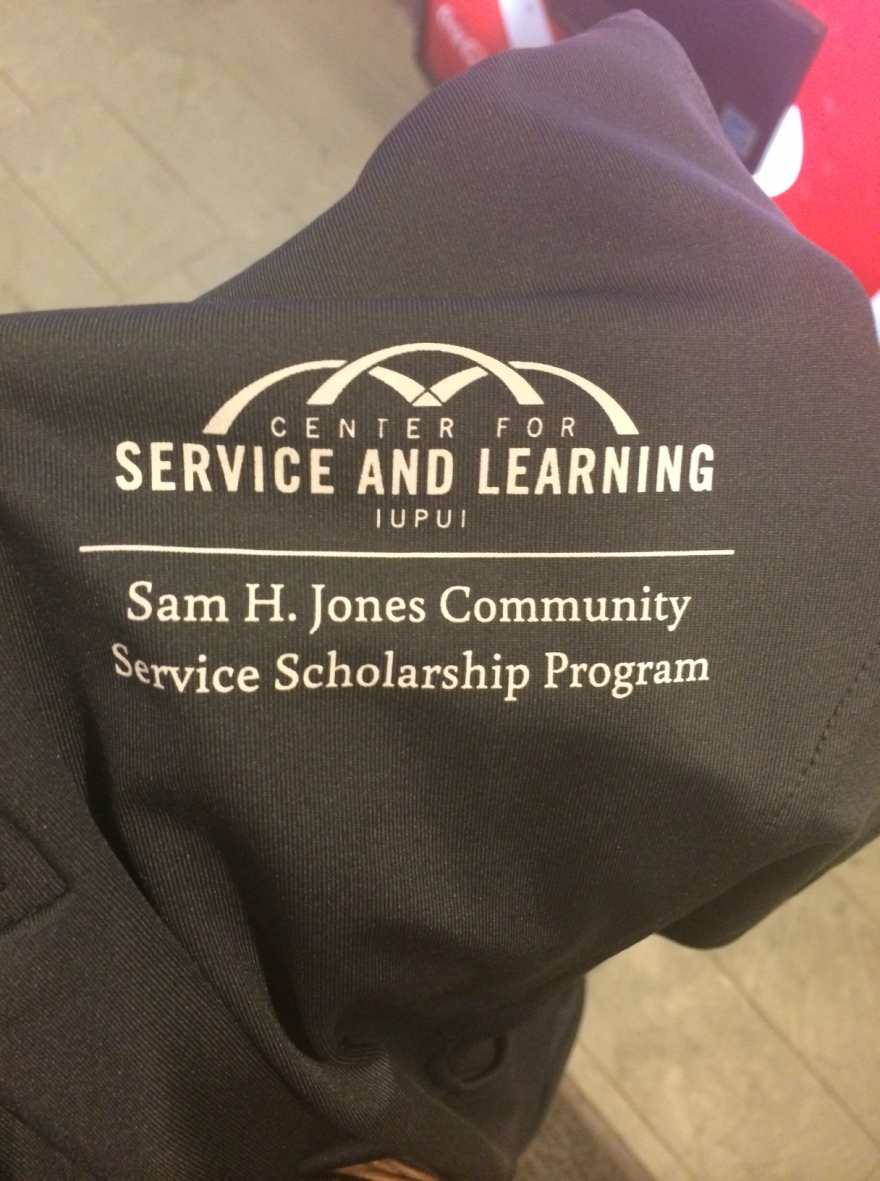 Center for Service and Learning. Sam H. Jones Community Service Scholarship Program Jacket
