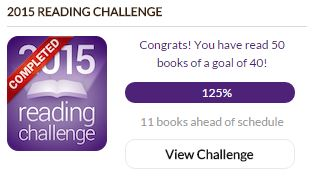 Goodreads Reading Challenge 2015